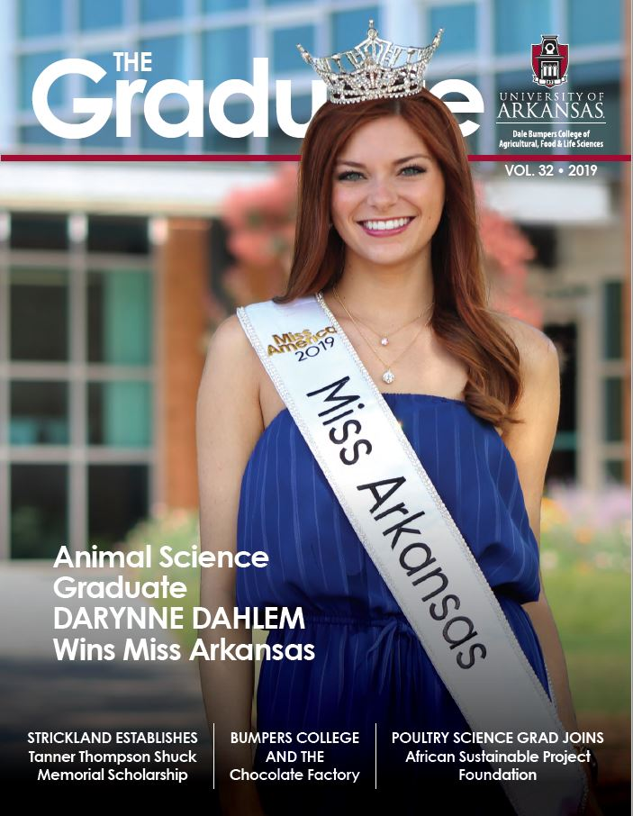 Front cover of the Bumpers College Graduate magazine 2019 edition.