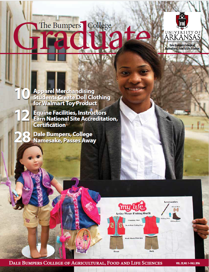 Front cover of the Bumpers College Graduate magazine 2016 edition.