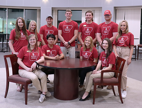2018-2019 Bumpers College Ambassadors Group Photo